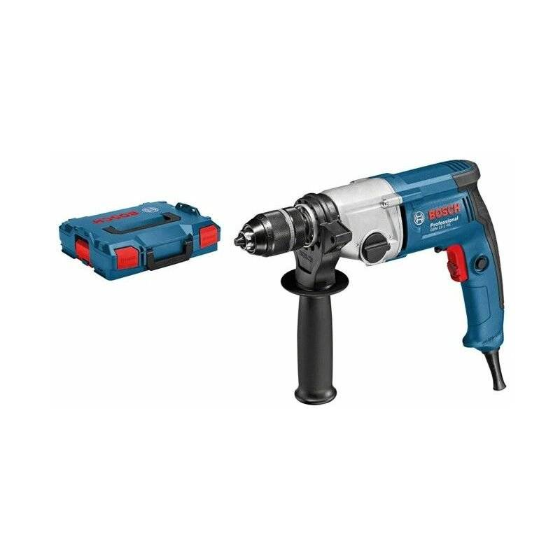 Bosch Professional Perceuse GBM 13-2 RE, Mandrin automatique 13 mm, L-BOXX, 750