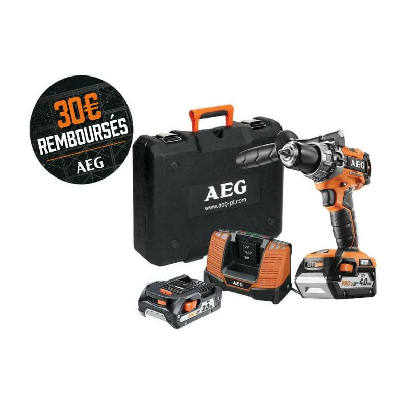 Aeg Powertools - Perceuse percussion Brushless AEG 18V - 1 batterie 2.0Ah - 1