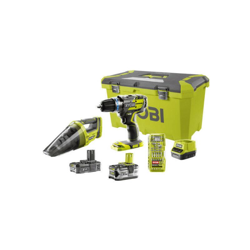RYOBI Perceuse-visseuse à percussion RYOBI 2 vitesses 18V ONEPLUS Brushless