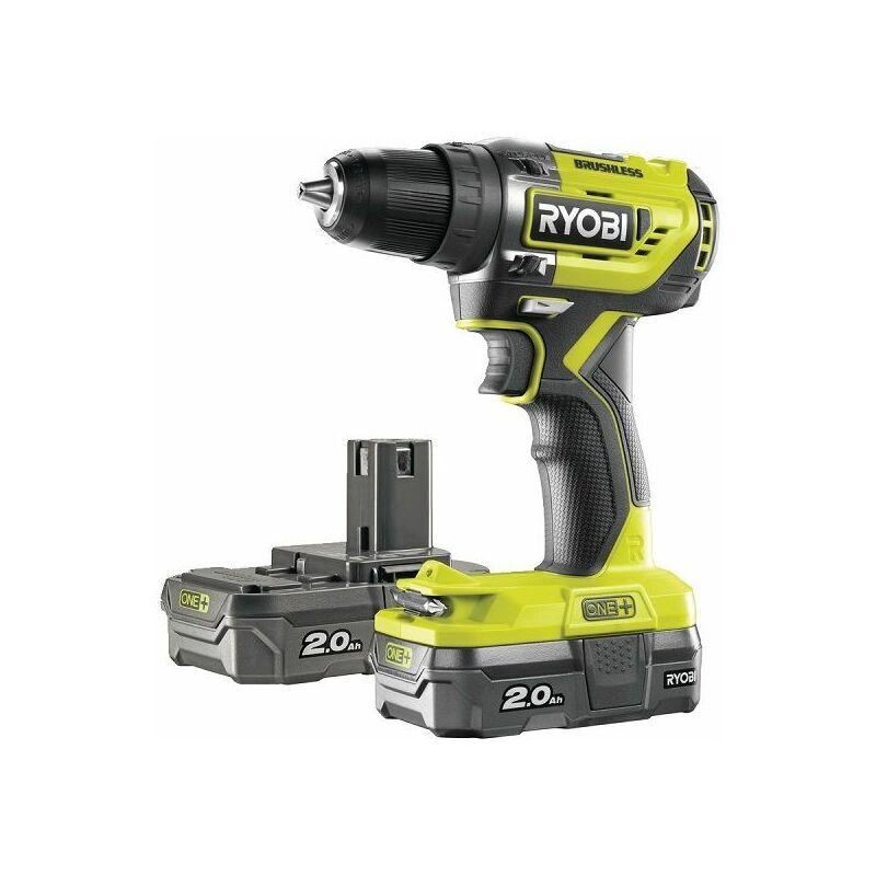Ryobi Perceuse-visseuse brushless E-torque 18V R18DD5-220S - 5133003733