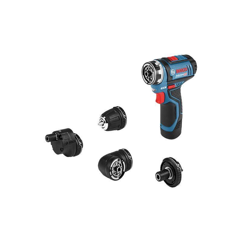 BOSCH Perceuse-visseuse sans-fil GSR 12V-15 FC Solo + Set accessoires - 06019F6003
