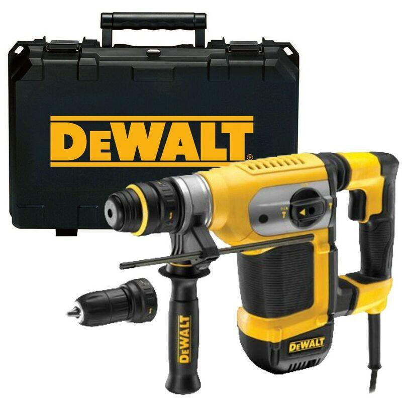 DeWALT D25415K Perforateur Burineur SDS-Plus 1000w 4.2J + Mandrin & Coffret