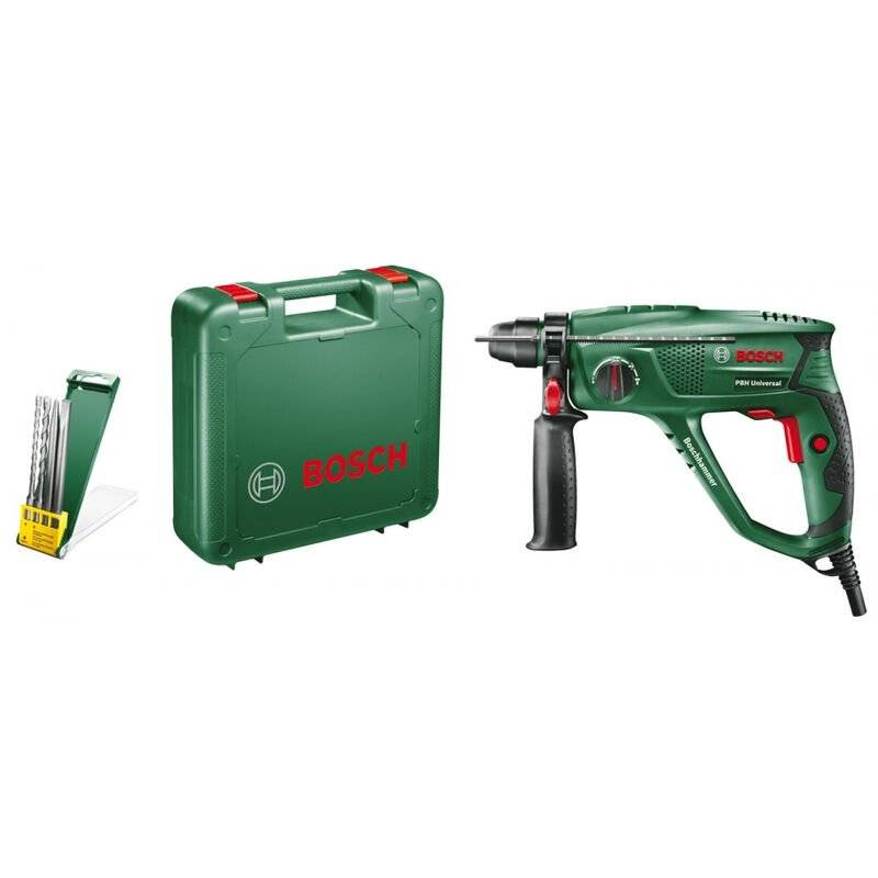 BOSCH Marteau perforateur 550W SDS PLUS Bosch PBH2100RE 1,7 Joules