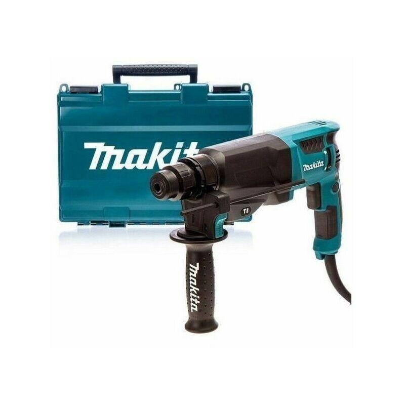 MAKITA Perforateur burineur MAKITA SDS-Plus 800W Ø26mm HR2630 en coffret