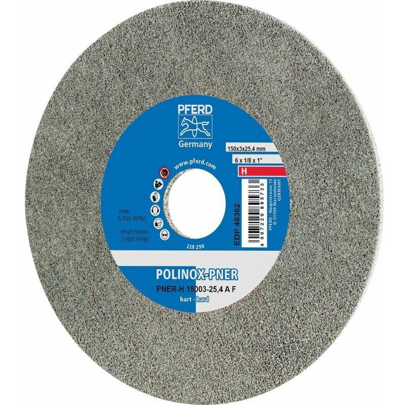 PFERD Meule compacte POLINOX - PNER-H 15003-25,4 A F
