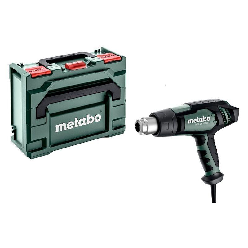 Metabo HGE 23-650 LCD - Décapeur thermique - incl. accessoires - dans MetaBox