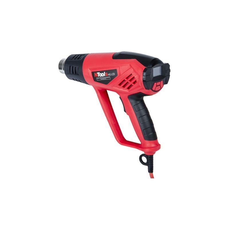 BVD - Pistolet décapeur thermique avec régulateur numérique et écran LCD