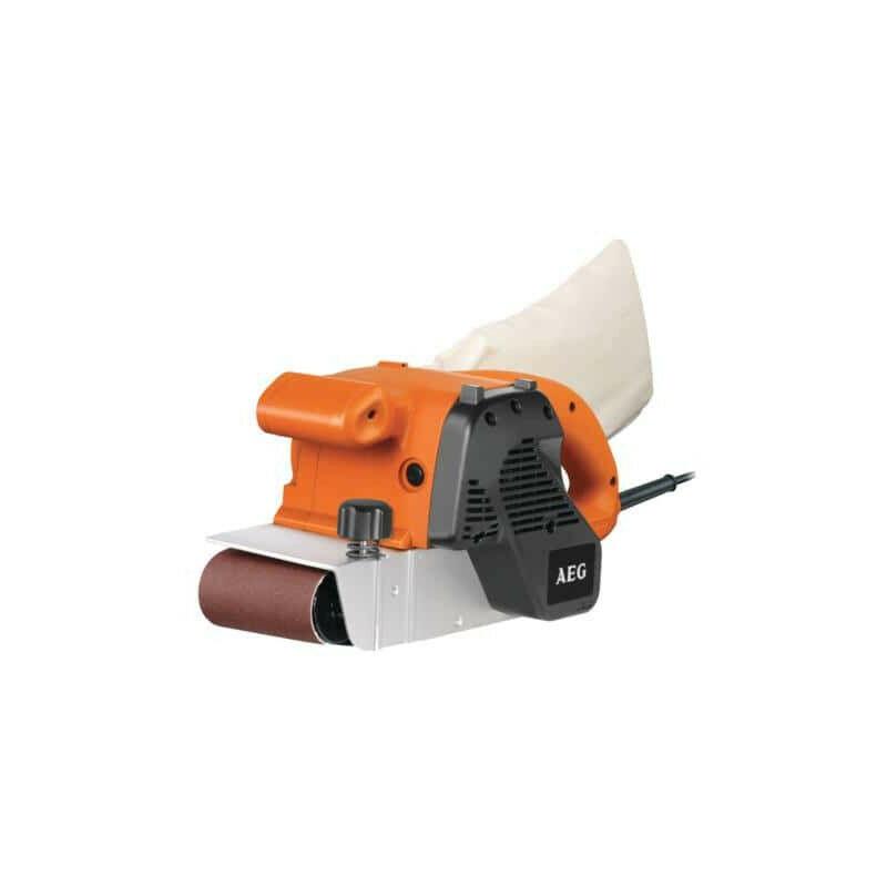 AEG Ponceuse à bande électronique AEG 1100W 100mm BBSE 1100