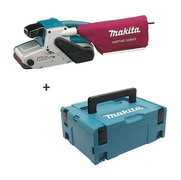 Makita – Ponceuse à bande 1010W (bande : 100 x 610 mm)+ Coffret Makpack - 9404J