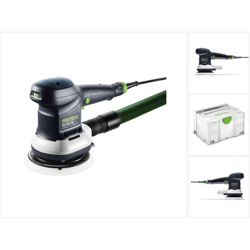 Festool ETS 150/3 EQ-Plus Ponceuse excentrique 310 W avec Coffret Systainer +