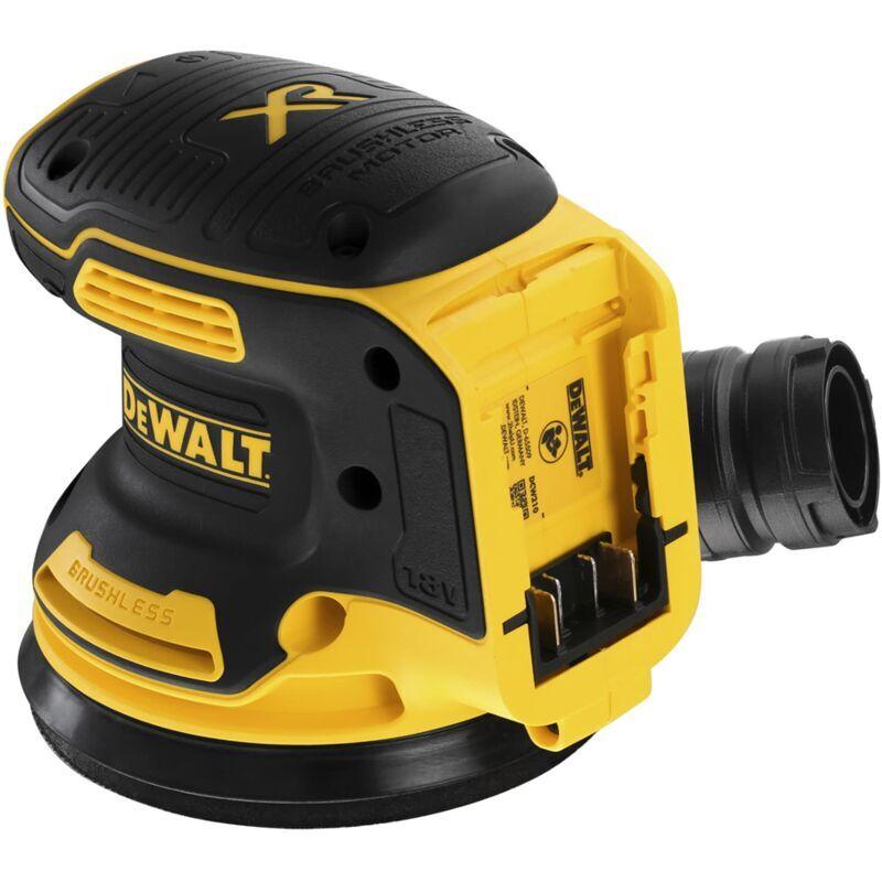 DEWALT Ponceuse excentrique XR 18V 125 mm Brushless DEWALT - sans batterie ni chargeur