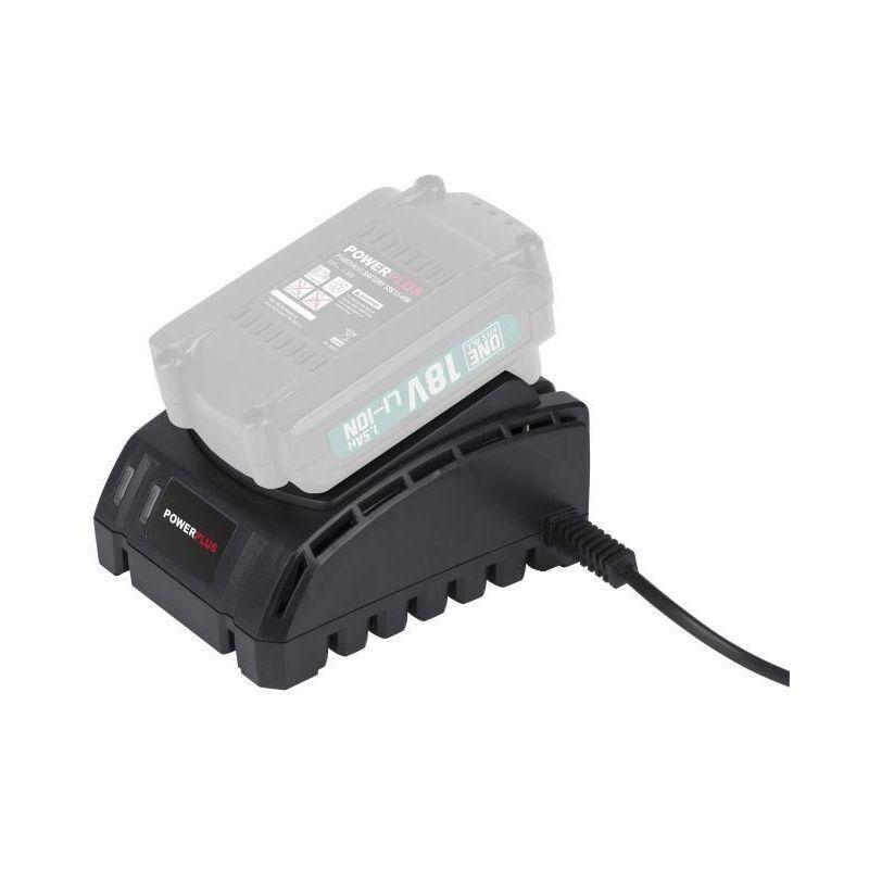 POWERPLUS Scie sauteuse + Batterie + Chargeur 18V
