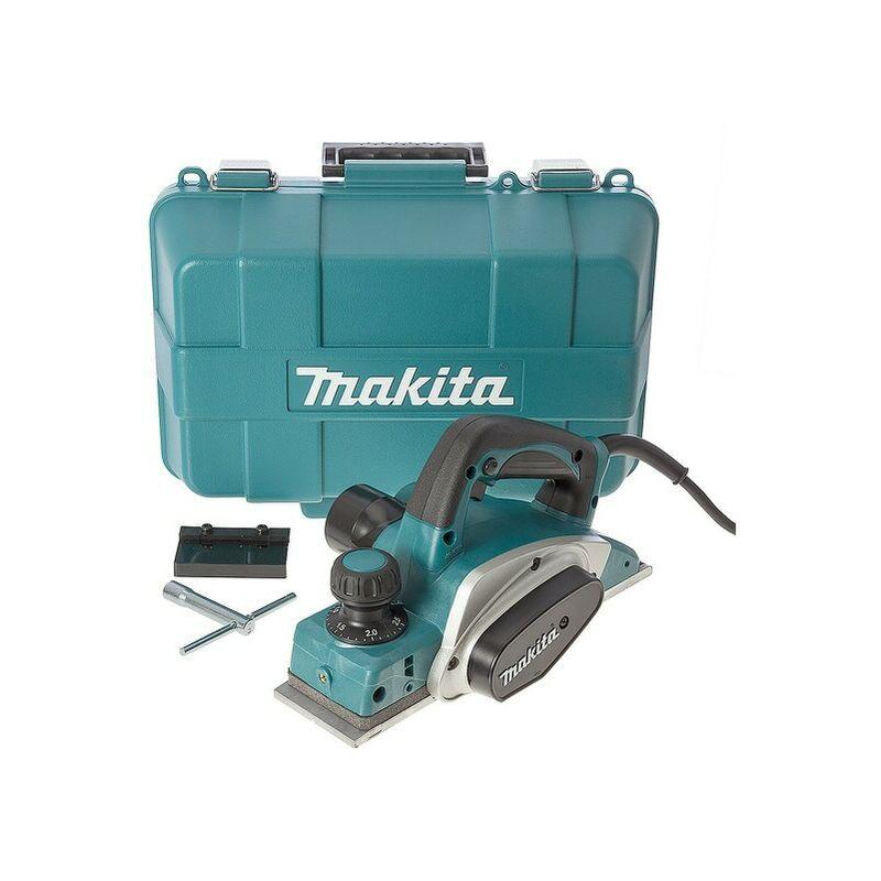 Makita KP0800K Rabot dans coffret - 620W - 2,5mm