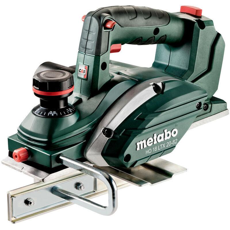 METABO Rabot - HO 18 LTX 20-82 Pick+Mix METABO (sans batterie ni chargeur), coffret
