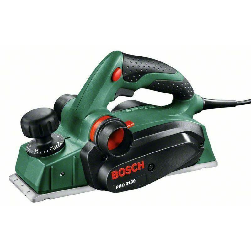 BOSCH Rabot filaire 650W PHO 3100 + butée parallèle + coffret Bosch 0603271100