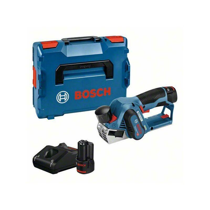 Bosch Professional Rabots sans fil GHO 12V-20, avec 2 x 3,0 Ah Li-Ion