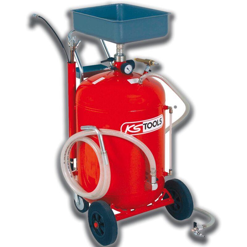 Kstools - Récupérateur d'huile par gravité et aspiration 90 L + 160.0004 - KS