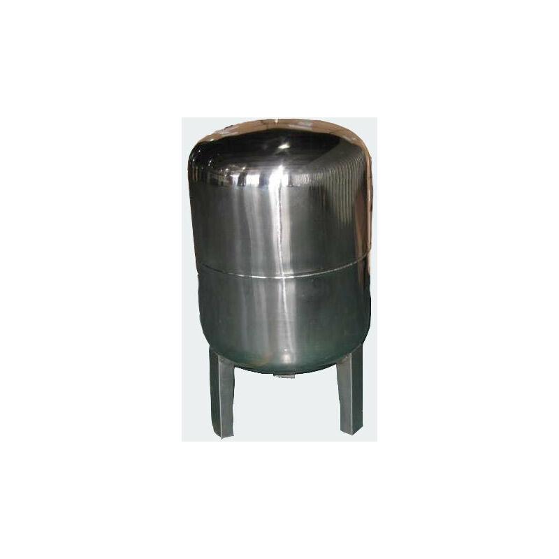 HELLOSHOP26 Réservoir à vessie p.la surpression domestique cuve ballon 100 litres inox