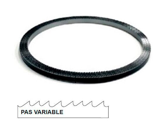 HEPYC Rouleau de scie à ruban métal 30M x 10 x 0,9 mm x 10/14 TPI pas variable