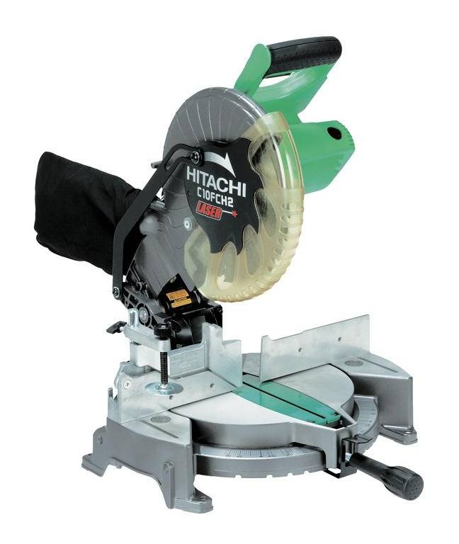 HITACHI - HIKOKI Scie à coupe d'onglet Ø255 mm 1520W HITACHI avec laser - C10FCH2