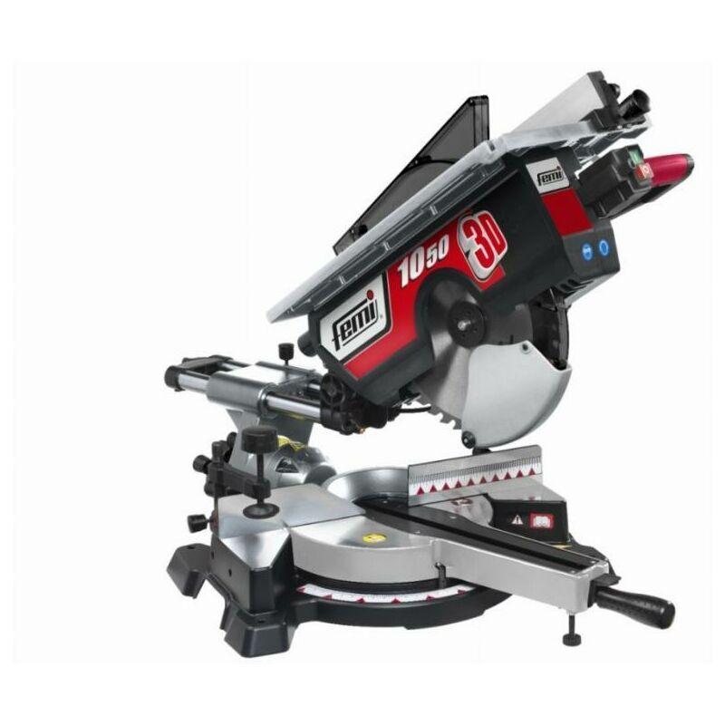 FEMI FRANCE Scie à onglet radiale avec table supérieure FEMI gamme Industrie - 10503D