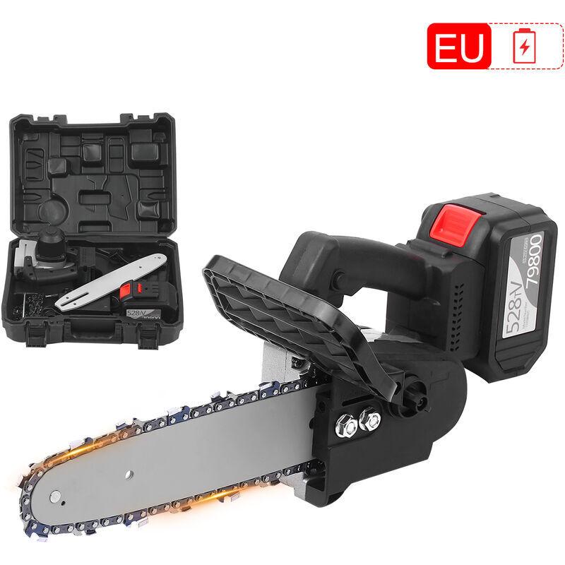 Happyshopping - Scie a chaine electrique portative a batterie au lithium sans