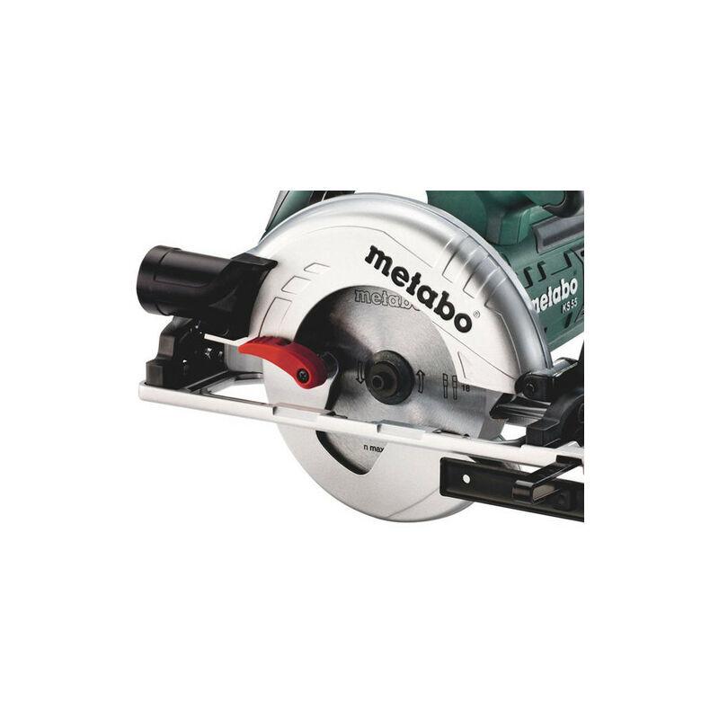 Metabo KS 55 FS - Scie circulaire dans coffret - 1200W - 160mm