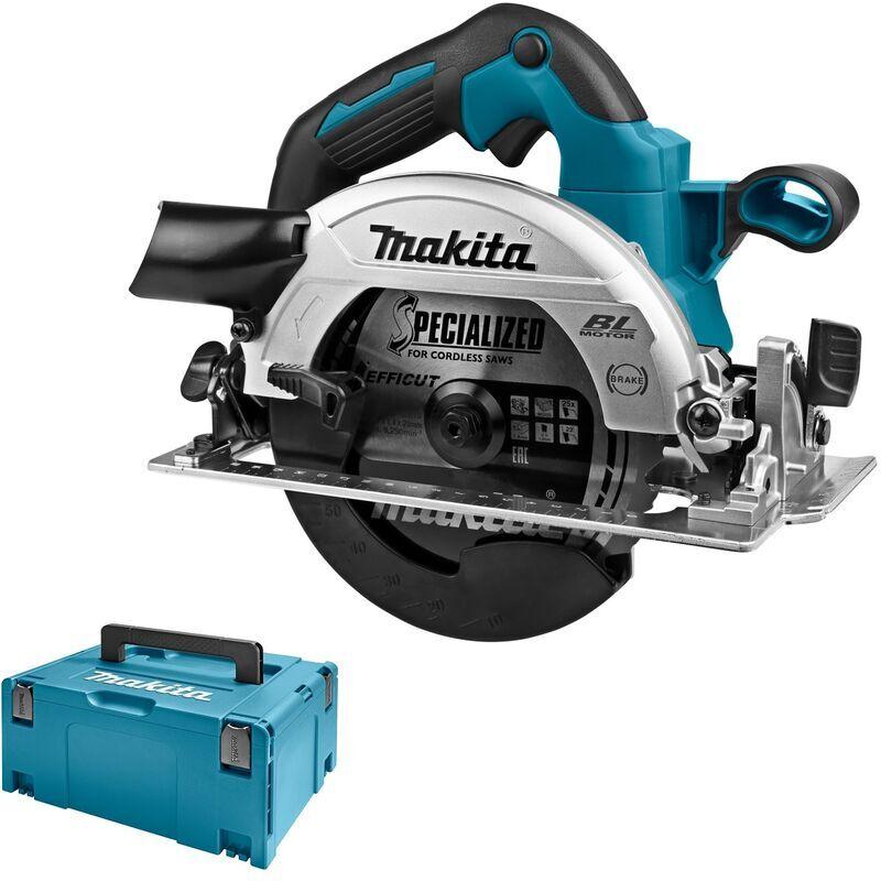 Makita DHS660ZJ Scie circulaire à batteries 18V Li-Ion (machine seule) dans