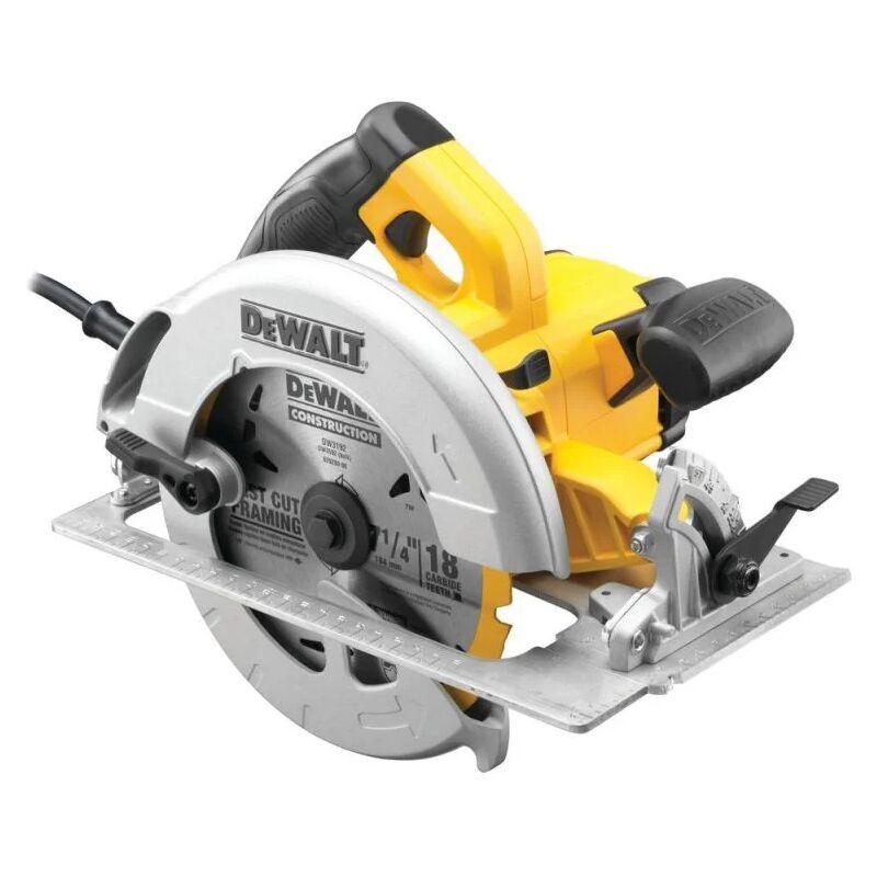 DEWALT Scie circulaire DEWALT Ø190 mm 1600W + coffret - DWE575K