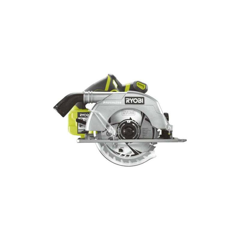 RYOBI Scie circulaire brushless RYOBI 18V OnePlus 60mm - sans batterie ni chargeur