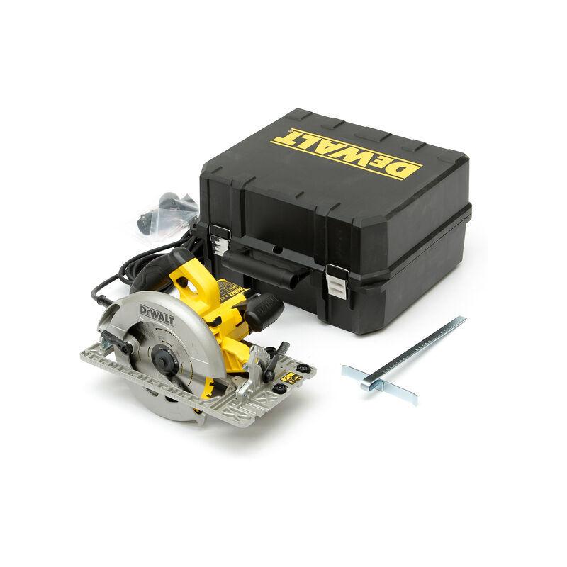 DEWALT DWE576K-QS. Scie circulaire 1600W Dewalt 190mm 61mm en coffret 339.339000