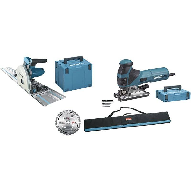 Makita Ensemble de 2 machines (SP6000 + 4351FCT) - MEU029J