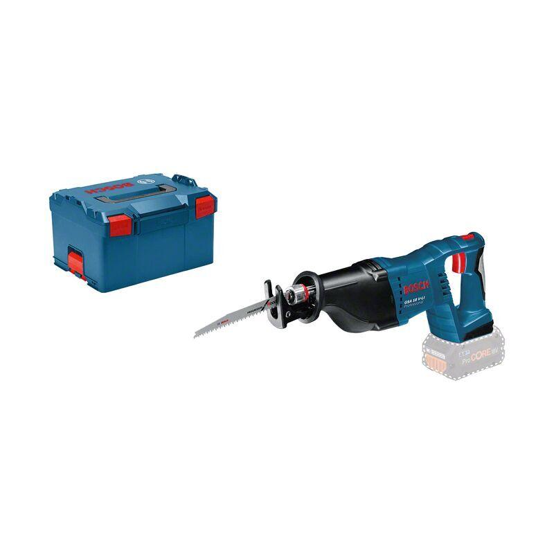 Bosch Professional Scie sabre sans fil GSA 18 V LI 2 batteries 18 V 5 Ah 1
