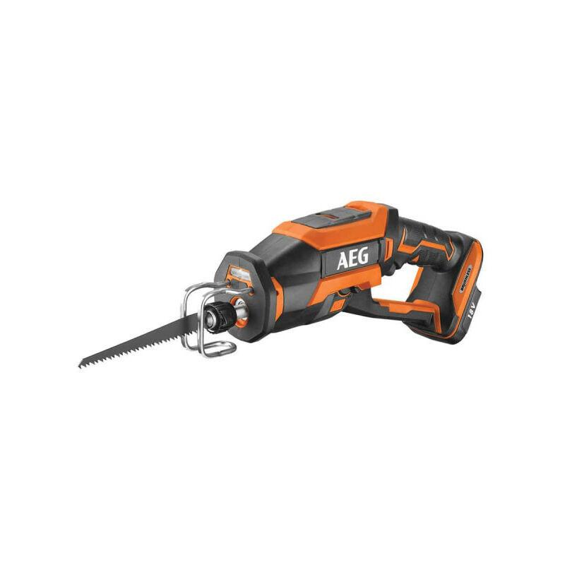 AEG Scie sabre compacte Brushless 18 V - Sans batterie ni chargeur BUS18CBL-0 - AEG