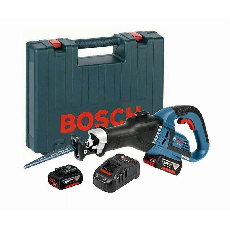 BOSCH Scie sabre GSA 18V-32 BOSCH - 2 batteries Li-Ion 5Ah - 06016A8106