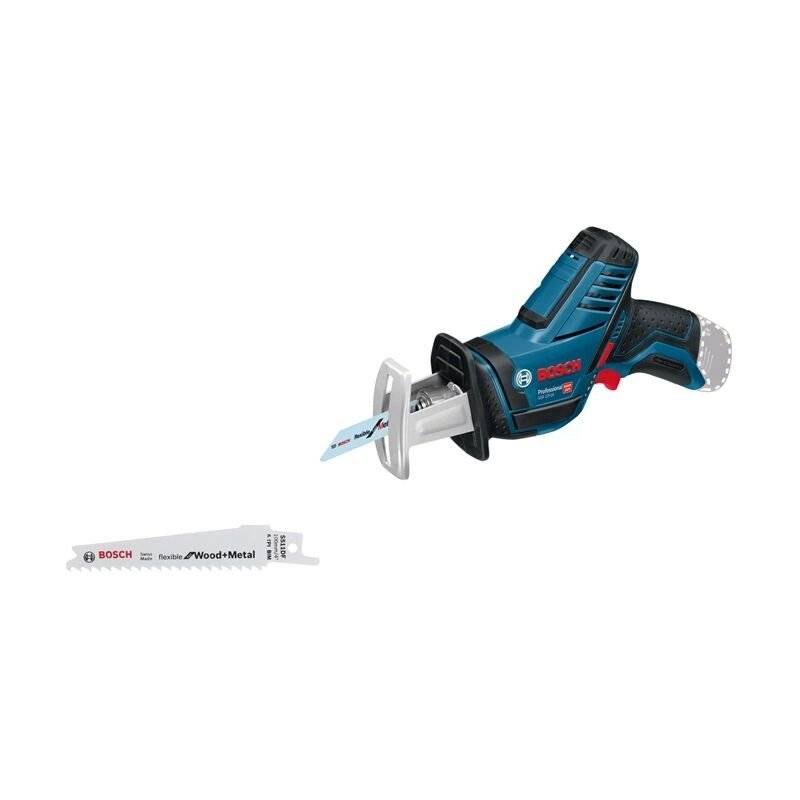 Bosch Professional Scie sabre sans fil GSA 12V-14 avec 2 batteries 3,0 Ah,