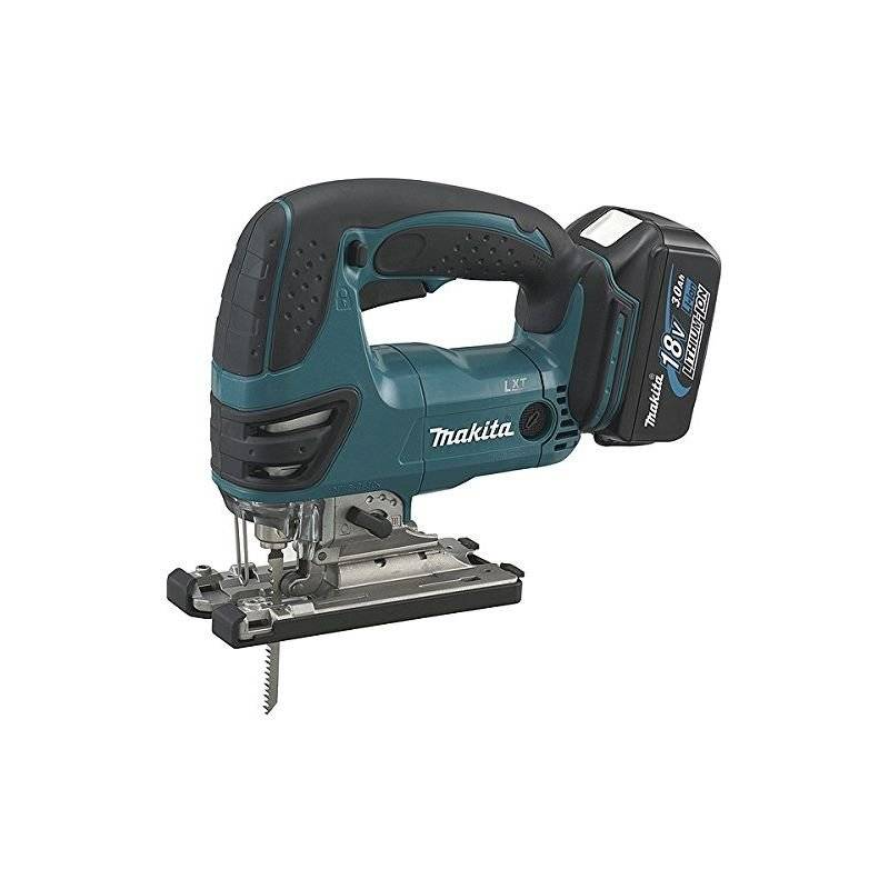 Makita - Scie Sauteuse 18 V Li-Ion 3 Ah (inclus 2 batteries 18V 3Ah Li-Ion +