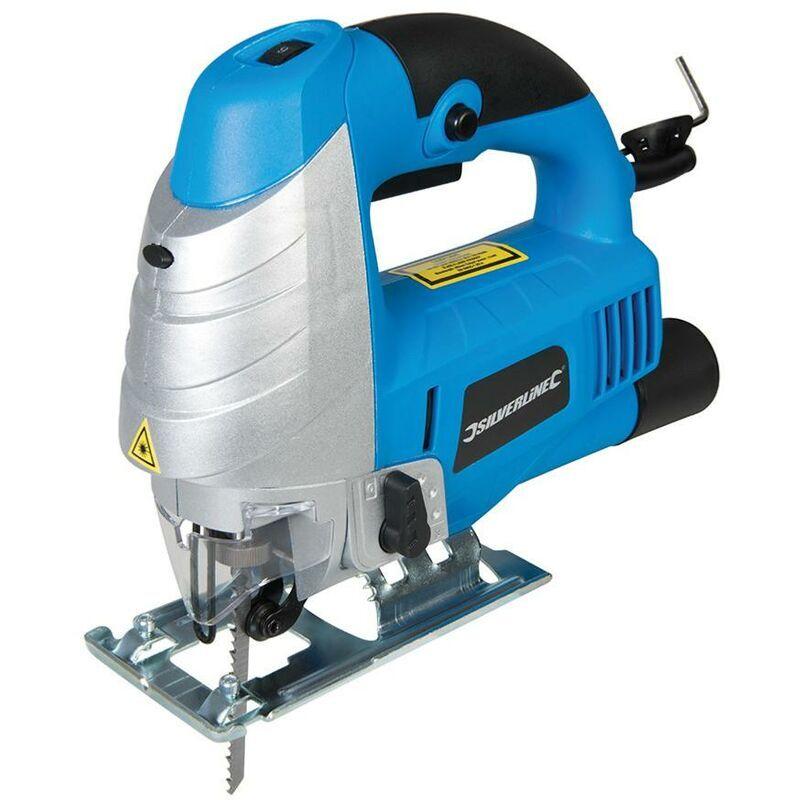 GMC Scie Sauteuse A Action Pendulaire Avec Guidage Laser 750 W Gmc