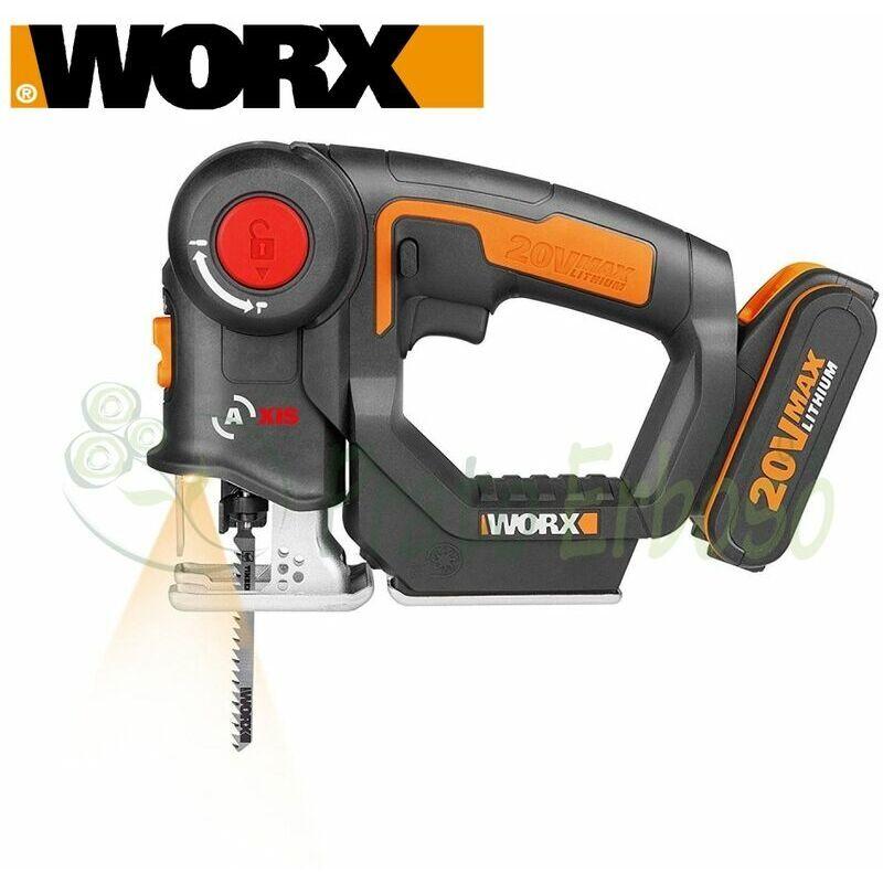 WORX Axe WX550 - Scie à métaux Worx