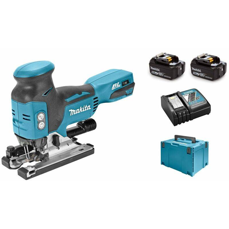 Makita DJV181RT1J Scie sauteuse à batteries 18V Li-Ion set (1x batterie 5,0Ah)