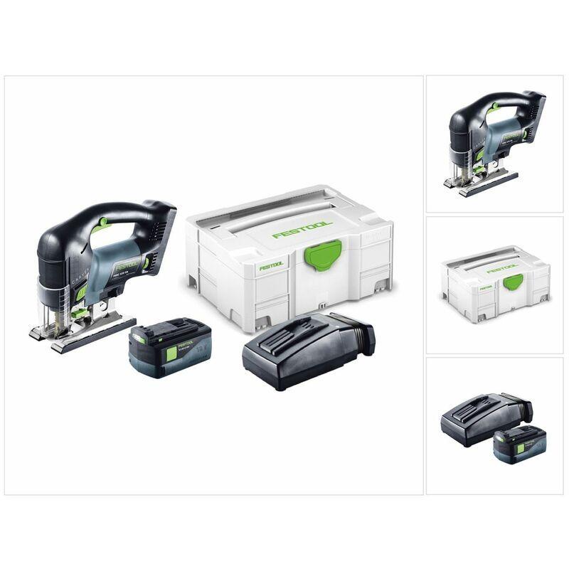 Festool PSBC 420 EB LI Plus Scie sauteuse CARVEX avec boîtier Systainer inclus