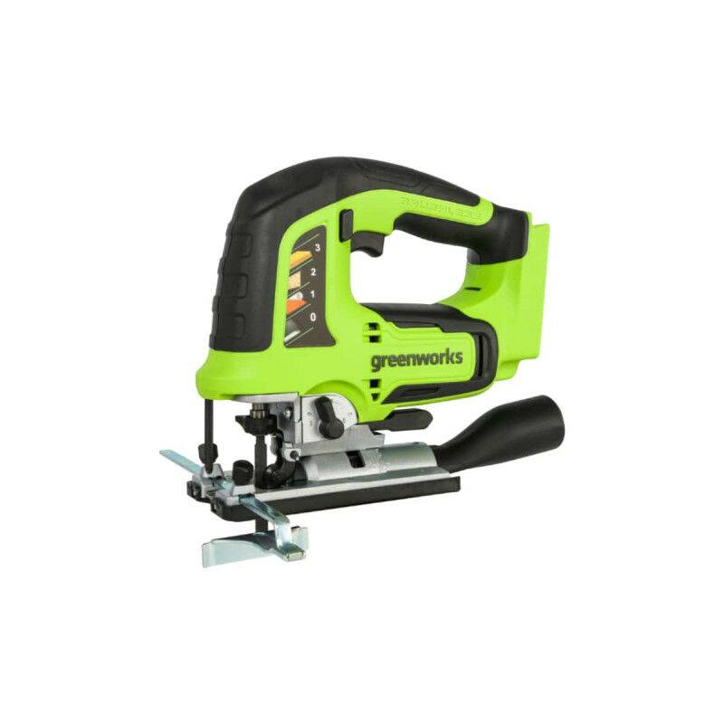 GREENWORKS Scie sauteuse GREENWORKS 24V Brushless - Sans batterie ni chargeur - GD24JS