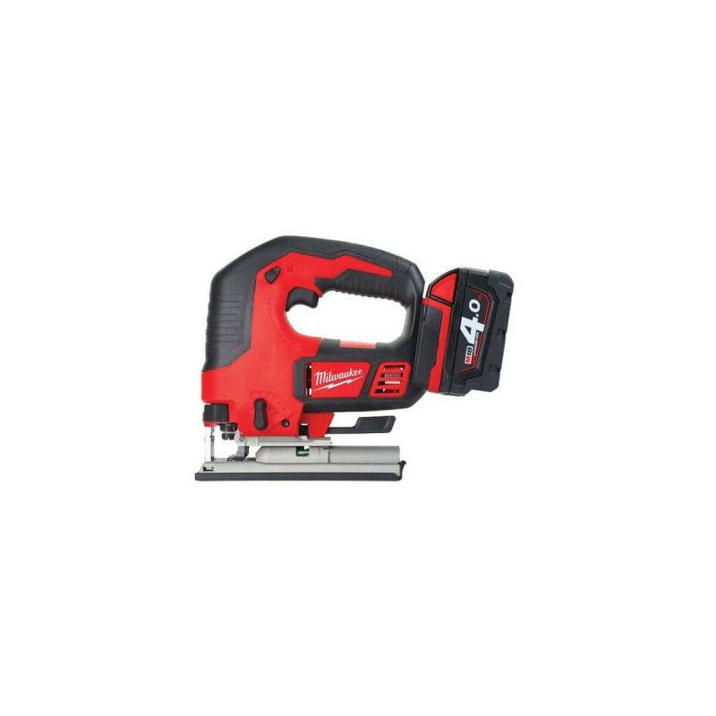 MILWAUKEE Scie Sauteuse MILWAUKEE M18 BJS-402C - 2 batteries 18V 4.0 Ah - 1 chargeur