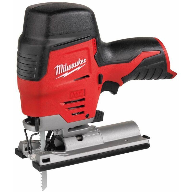MILWAUKEE Scie sauteuse MILWAUKEE M 12 JS-0 - Sans batterie ni chargeur - 12V - 4933431305