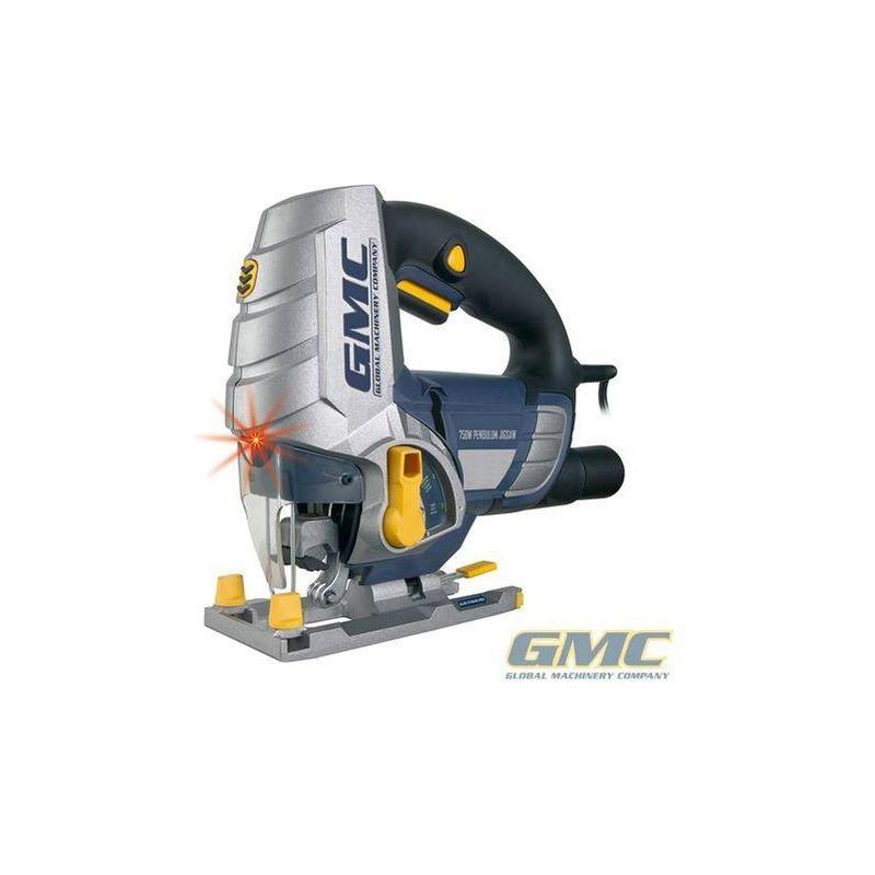 GMC ÉLECTRO-PORTATIF Scie sauteuse avec découpe laser GMC 100 mm LJS750CF - 750 W