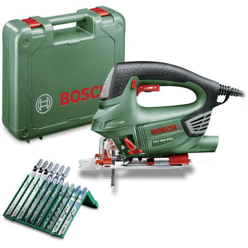BOSCH HOME AND GARDEN Scie sauteuse Bosch Home and Garden PST 900 PEL 06033A0201 + mallette 620 W 1