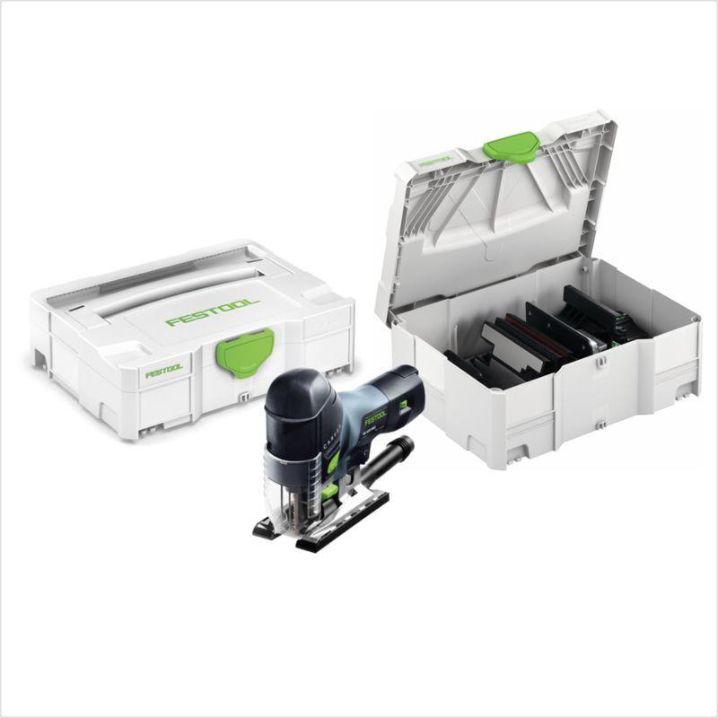 Festool PS 420 EBQ-Set Scie sauteuse CARVEX 550 W + Coffret de transport +