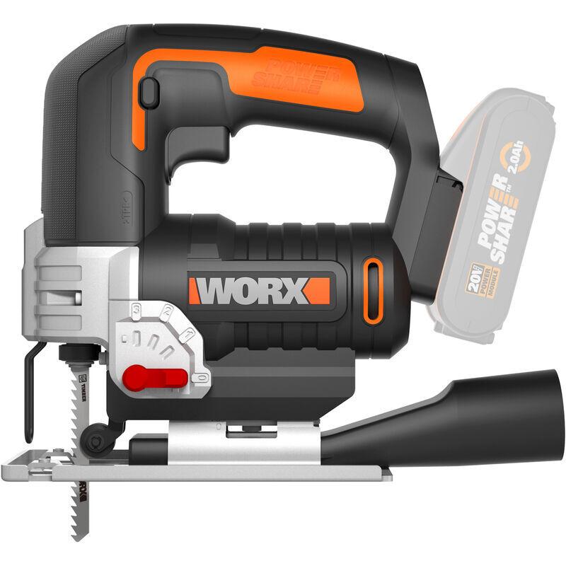 WORX WX543.9 - Scie Sauteuse SANS batterie NI chargeur - Worx