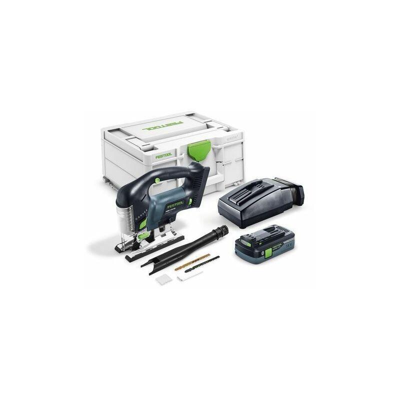 Festool Scie sauteuse sans fil PSBC 420 HPC 4,0 EBI-Plus CARVEX + batterie