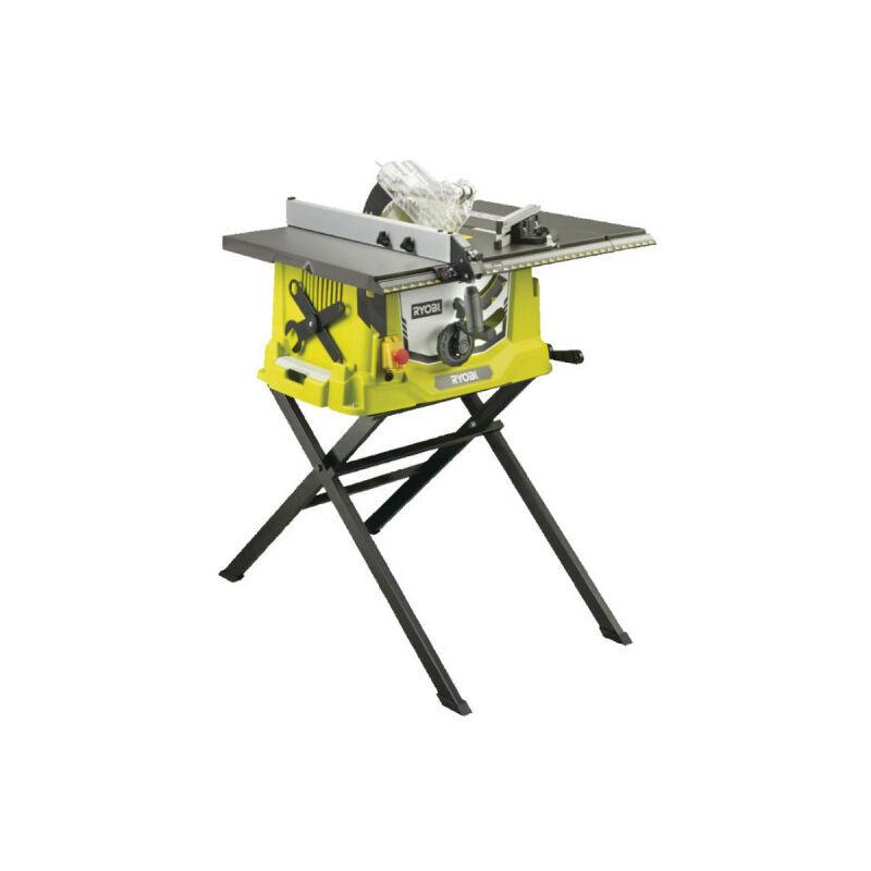 RYOBI Scie sur table électrique RYOBI 1800W 254mm - piètement rétractable et